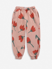 Big Flowers All Over Jogging Pants