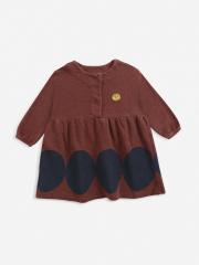 Ovals Fleece Dress