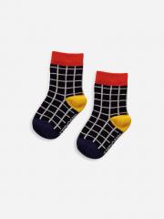 Black checkered Baby Socks