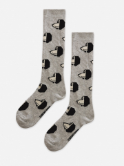 Doggie All Over Long Socks