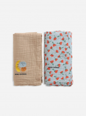 Fruits And Small Flowers Muslin Pack