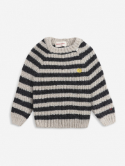 Stripped Knitted Jumper
