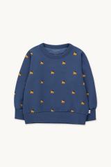 Dogs Sweatshirt / Soft Blue Honey