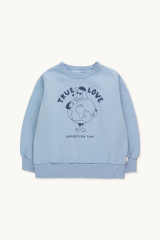 True Love Sweatshirt / Milky Sky Deep Blue