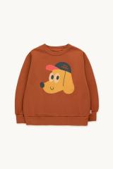 Tiny Explorer Sweatshirt / dark Copper Honey