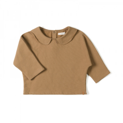 Collar Longsleeve / Toffee