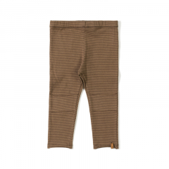 Tight Legging / Stripe Toffee