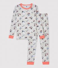 Pyjama / Grijs Eifeltoren wolf