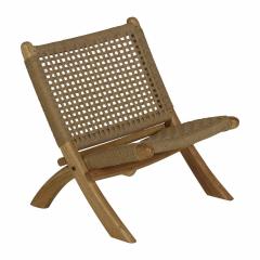 Folding Kids Chair Loom Rope