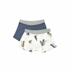 Duo Boxer / Twisted Tiger Blue