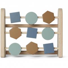 Astrid Abacus Geometric / Blue Multi Mix