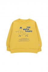 Worm Dance Sweatshirt / Bamboo Yellow/Ultramarine