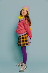 Collar Otilia purple/ yellow mellow
