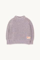 Multicolor Mockneck Sweater / Pastel Multicolor
