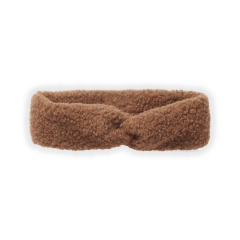 Turban Headband Teddy / Nougat