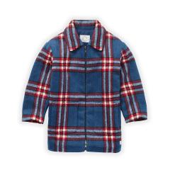 Coat Blue Check / Lake Blue