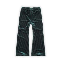 Pants Velvet Pleats / Pine Green