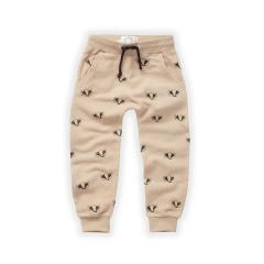 Brushed Pants / Badger Print Nougat
