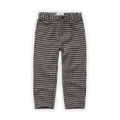 Chino Pants Block Check / Black
