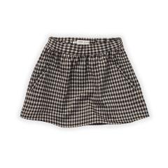 Skirt Block Check / Black