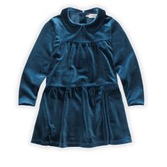 Dress Velvet Blue / Lake Blue