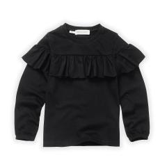T-shirt Ruffle / Black