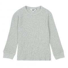 Organic Cotton Plain T- Shirt / Heather Grey