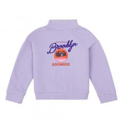 Organic Cotton Boombox Sweatshirt / Mauve
