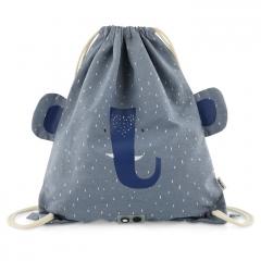 Drawstring Bag / Mrs Elephant