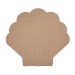 Foam Play Mat Shell / Light Brown