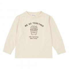 Organic Cotton Together T-Shirt / Mastic