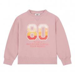 Organic Cotton 80's Sweatshirt / Dusty Pink