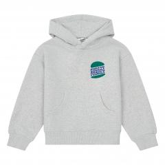Organic Cotton Oversize Cheezy Sweatshirt / Heather Grey