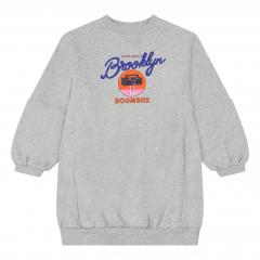 Brooklyn Sweatshirt Dress / Heather Grey