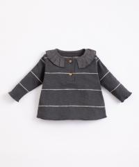 Striped Rib T-Shirt / Frame