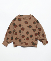 Printed Jersey T-Shirt / Tomato