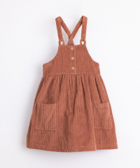 Corduroy Dress / Sanguine