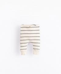 Striped Rib Leggings