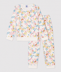 Pyjama Molton / Bloemenprint