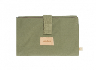 Baby on the go waterproof changing pad / Olive Green