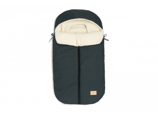 Baby On The Go Waterproof Footmuff / Carbon Blue