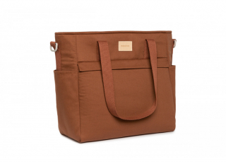 Baby On The Go Waterproof Changing Bag / Clay Brown