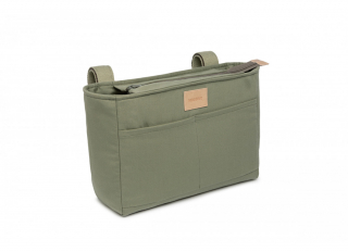 Baby On The Go Waterproof Stroller Organizer / Olive Green