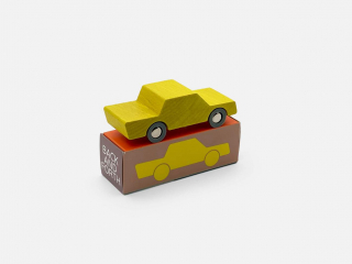 Back and Forth Car / Yellow