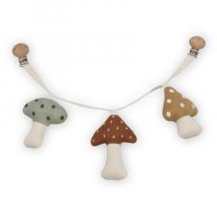 Pram Chain / Mushrooms Forest Floor