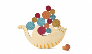 Wooden Toy / Meow