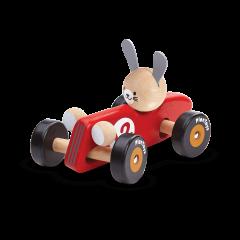 Rabbit Racing Car / Red