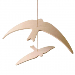 Kano Birds Swallow Mobile