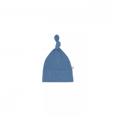 Knotted Hat / Azul