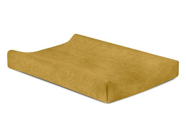 Waskussenhoes Badstof 50x70cm / Mustard